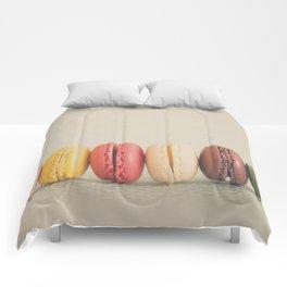 a macaron rainbow ... Comforters
