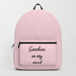 sunshine on my mind Backpack