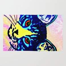 Pop Art Cat No. 2 Rug