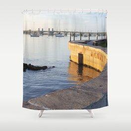 Winding Wall Shower Curtain
