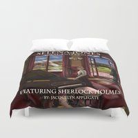 selena Duvet Covers featuring Selena Jones & Sherlock Holmes: Trial and Error by Applegate's Arts