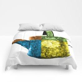 Watering Can Pop Art Comforters