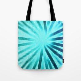 Intersecting-Aqua Tote Bag