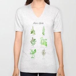 Basic Herbs Unisex V-Neck