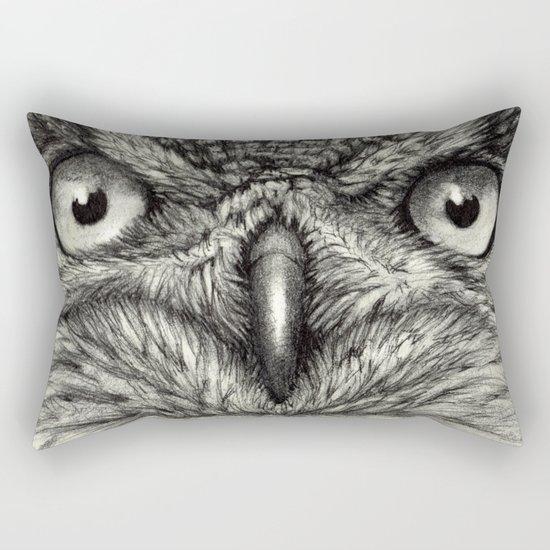 Eagle Owl 878 Rectangular Pillow
