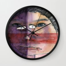 I feel shy Wall Clock