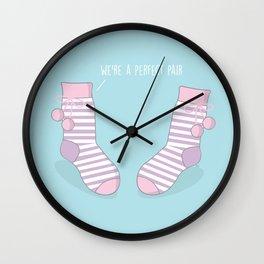 Perfect Pair #kawaii #christmas Wall Clock