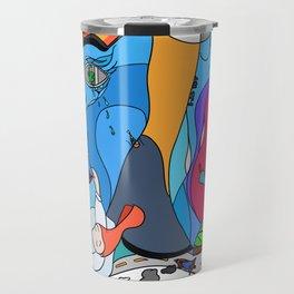 The weekend - Pop Colour Travel Mug