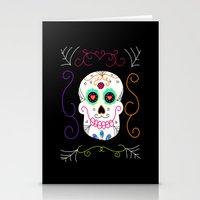 selena gomez Stationery Cards featuring Gomez by Designs By Misty Blue (Misty Lemons)