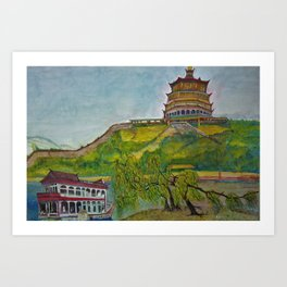 Summer Palace - Beijing, China Art Print