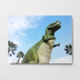 Pee-Wee Dinosaur Metal Print