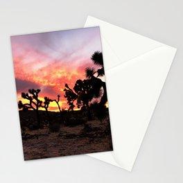 Joshua Tree Sunset Stationery Cards