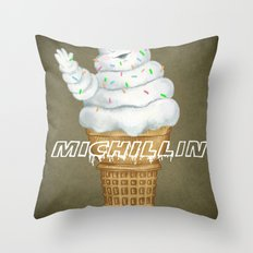 Mi..Chill..in says Hi to you! Throw Pillow