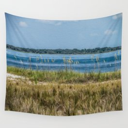 Relax on the Island Wall Tapestry