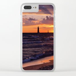 Breathless Beauty Clear iPhone Case