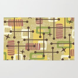 Mid Century Modern Abstract Pattern 834 Rug