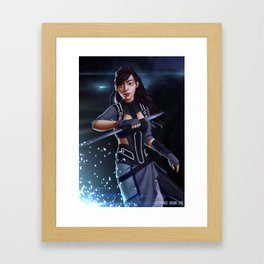 Spark of Honor - Kosuke Framed Art Print