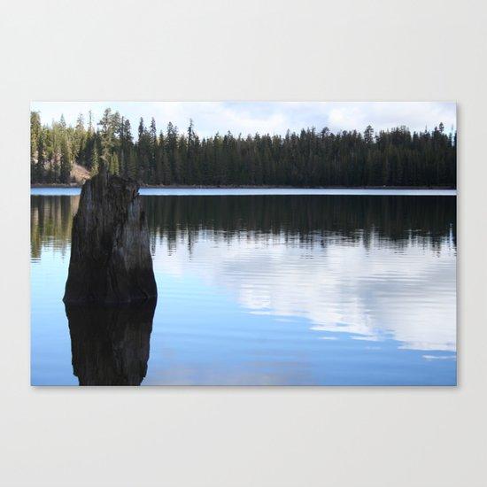 Lake II Canvas Print