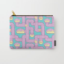 Tube City (Pink/Blue) Carry-All Pouch