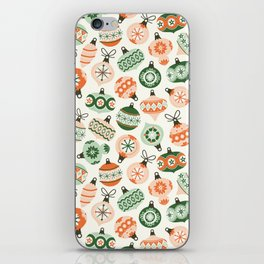 Vintage Ornaments iPhone Skin