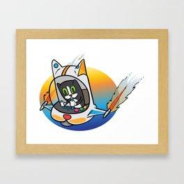 Filis´s first flight Framed Art Print