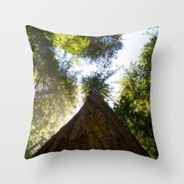 the forest for the tree Throw Pillow