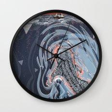 Beneath Wall Clock