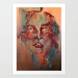Posion Ivy Art Print