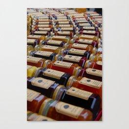 Jam Jars Canvas Print