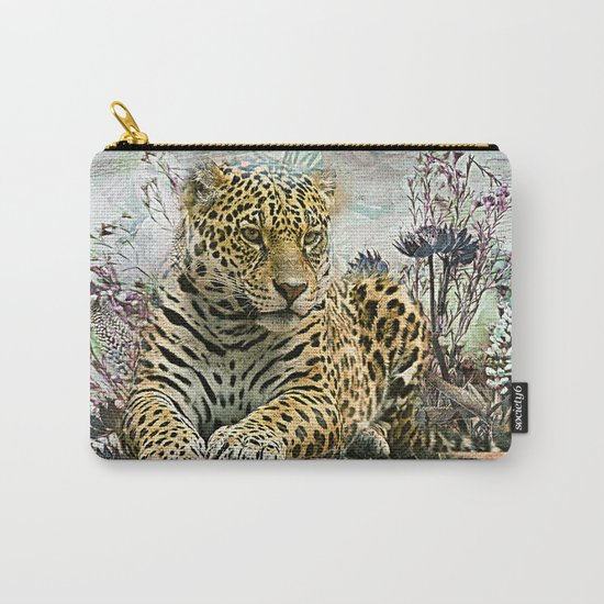 Lingering Leopard Carry-All Pouch