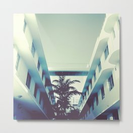MIAMI HEAT Metal Print