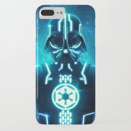 Tron Vader Blue iPhone Case