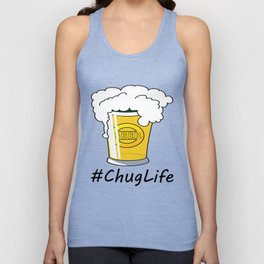 #ChugLife Beer Mug Unisex Tank Top