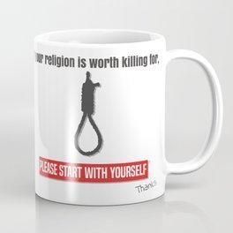 Stop Religious extremism Coffee Mug