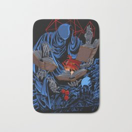 Dungeons, Dice and Dragons - The Dungeon Master Bath Mat
