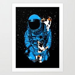 Astrocats Art Print