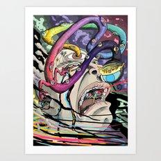 Total Freak Out Art Print