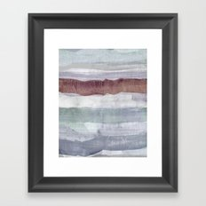 breakway warm Framed Art Print