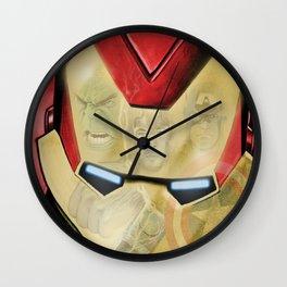 Avengers Reflection Wall Clock