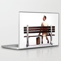 forrest gump Laptop & iPad Skins featuring Forrest Gump by e_Walnutstreet