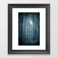 Unknown star Framed Art Print
