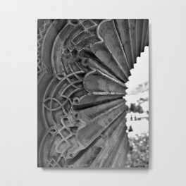 Alhambra Window Metal Print
