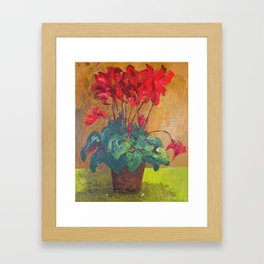 Ciclamen Framed Art Print