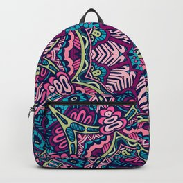 Abstract Boho Festive Mandala Seamless v03 Backpack