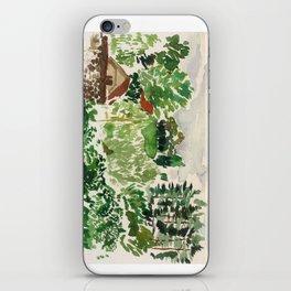Aquarell hills iPhone Skin