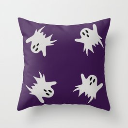 Ghosts #2 Throw Pillow