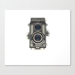Vintage Camera (Yashica 44) Canvas Print