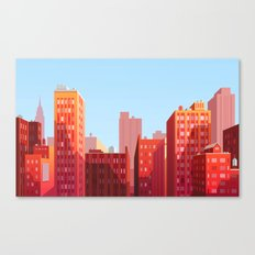 HOME CITY Canvas Print