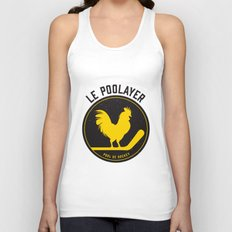 Le Poolayer Unisex Tank Top