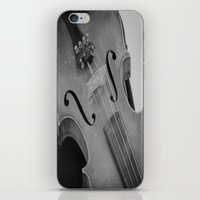 violin iPhone & iPod Skins featuring Violin by KimberosePhotography